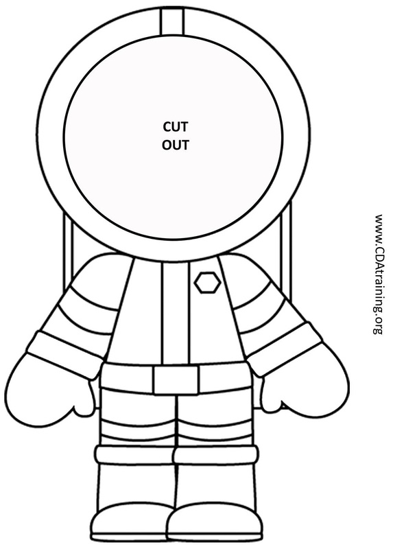 astronaut print outs - photo #5