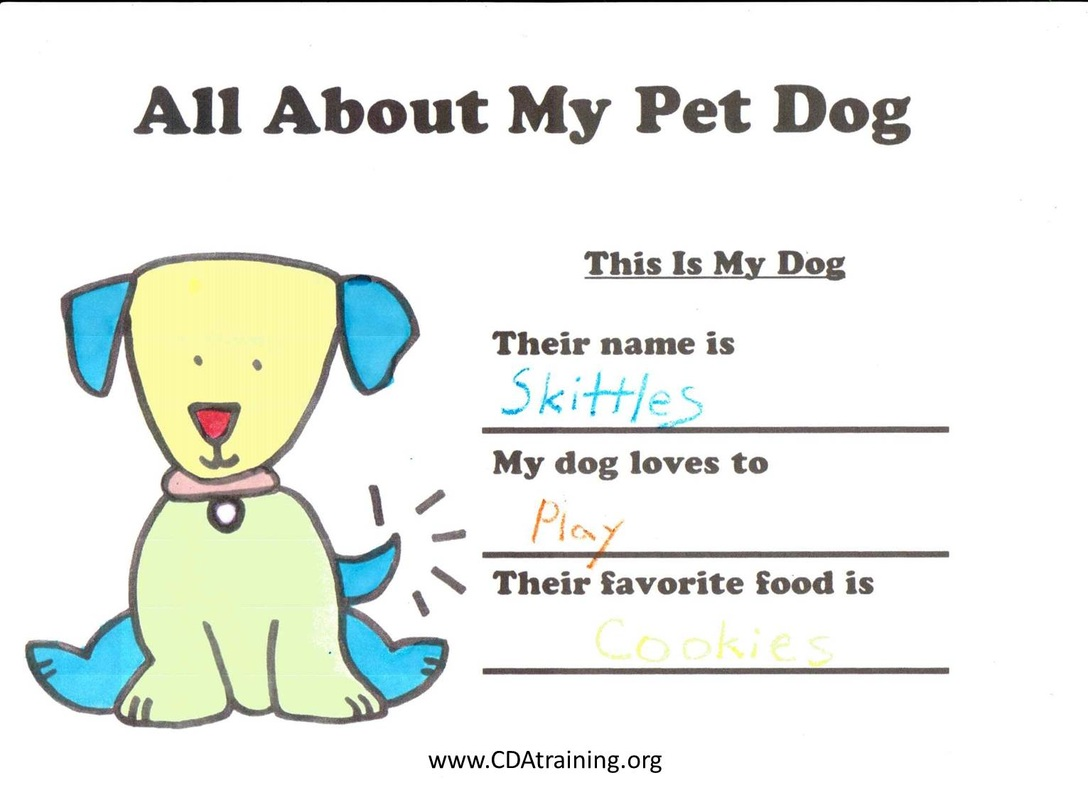 Pets Theme Child Care Training