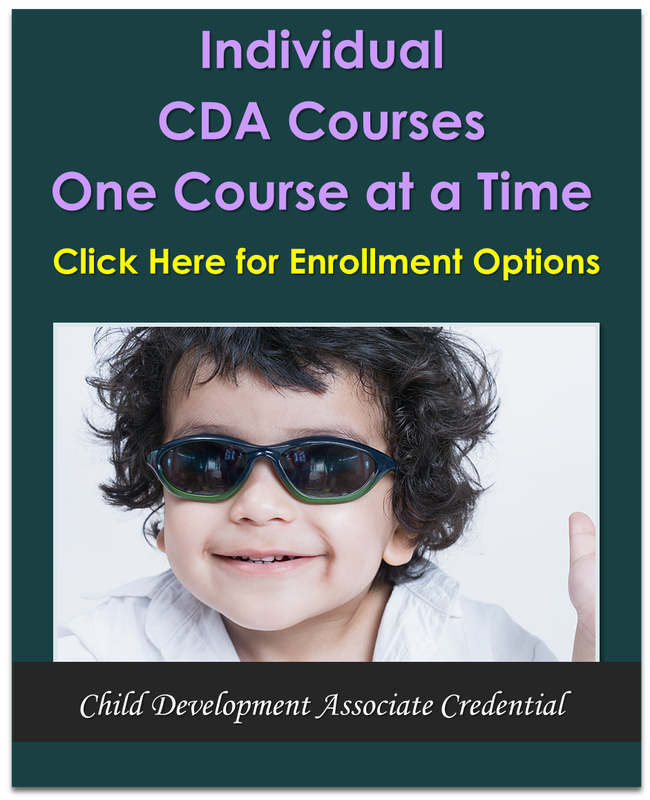 CEU courses for child care