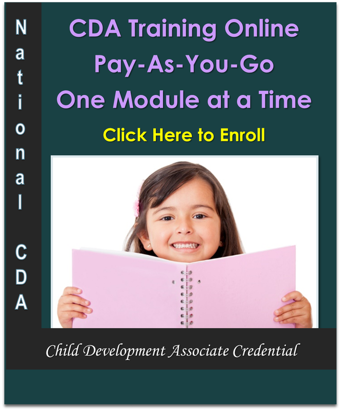 child development associate online